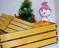 Подарочная коробка из реек, фото 2
