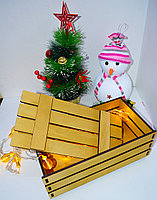 Подарочная коробка из реек, фото 3