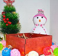 Подарочная коробка красная, фото 3