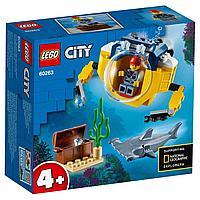 Лего сити LEGO Океан: мини-подлодка CITY 60263