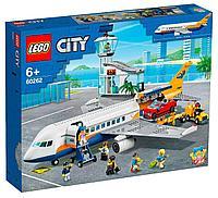 Лего сити самолет LEGO Пассажирский самолёт CITY 60262