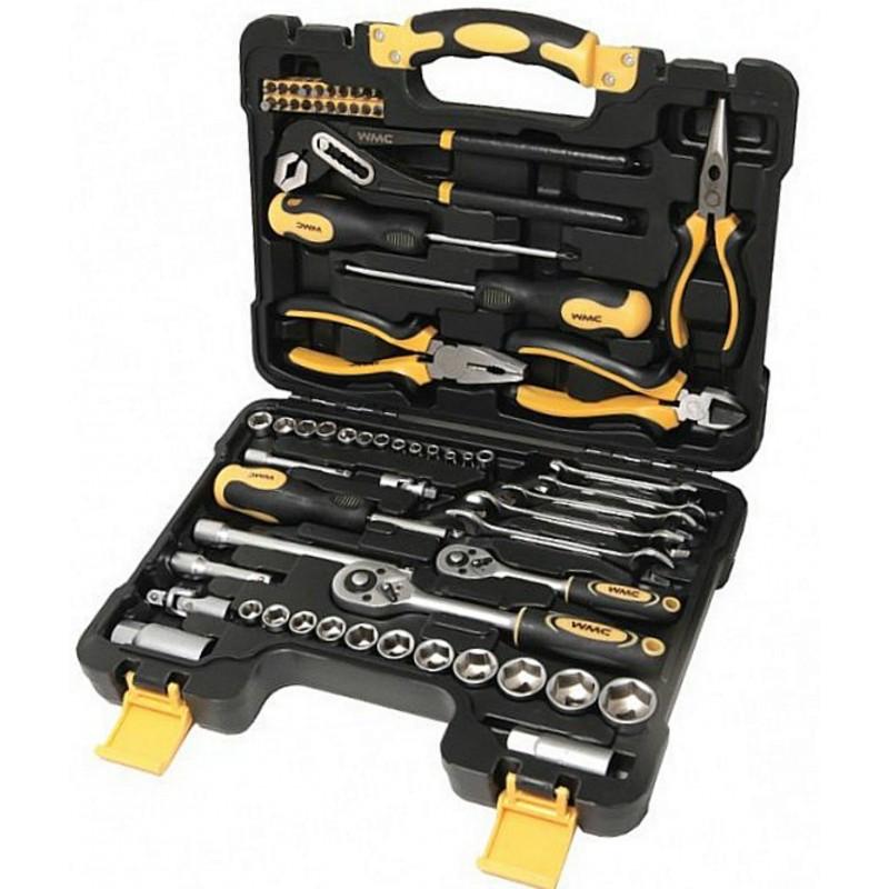 Универсальный набор инструментов WMC TOOLS 65 предметов