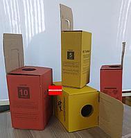 Коробка 20л для сбора и утилизации медицинских отходов Красный/Желтый, фото 1