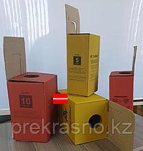 Коробка 20л для сбора и утилизации медицинских отходов Красный/Желтый
