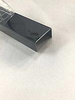 Профиль для декорирования мебели 12*30, черный хром, 305 см