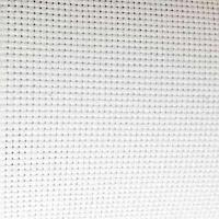 Канва Gamma К16 Аида белая шир. 50*75 см. 16 ct 60/10 кл.