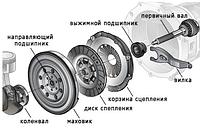 Сцепление , корзина, диск, выжимной, Япония, Европа, Америка, Корея, грузовые легковые автомобили