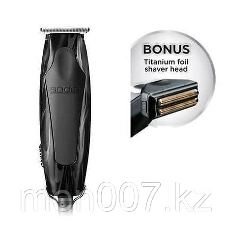 Триммер Andis Superliner+™ T-Blade Trimmer with Foil Shaver