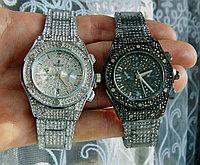 Женские часы Hublot со стразами. В описании есть видео обзор. Часы хублот новые!
