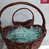 Бумажный наполнитель для оформления подарков, 50 гр, цвет мята, фото 2