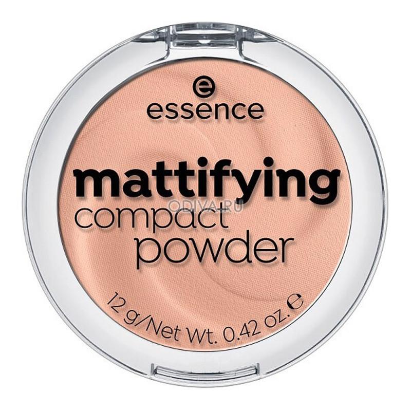 Essence, MATTIFYING COMPACT POWDER - ПУДРА КОМПАКТНАЯ (ИДЕАЛЬНЫЙ БЕЖ Т.04)