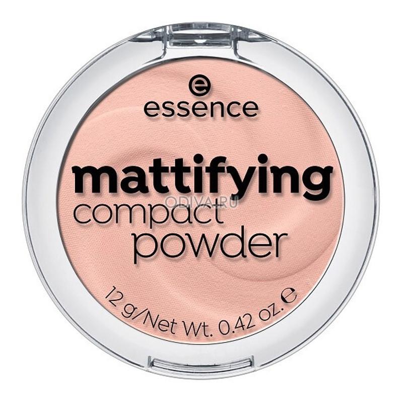 Essence, MATTIFYING COMPACT POWDER - ПУДРА КОМПАКТНАЯ (СВЕТЛЫЙ БЕЖ Т.10)