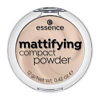 Essence, MATTIFYING COMPACT POWDER - ПУДРА КОМПАКТНАЯ   11 pastel beige
