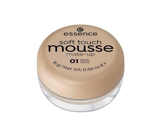 Essence Мусс тонирующий soft touch matt mousse  01 matt sand