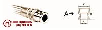 Металлорукав РГМ-БРСА с наконечником БРС тип А с внутренней резьбой