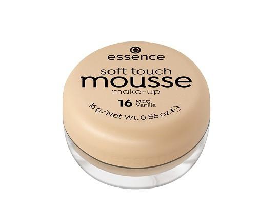 Essence Мусс тонирующий soft touch matt mousse  16 matt vanilla