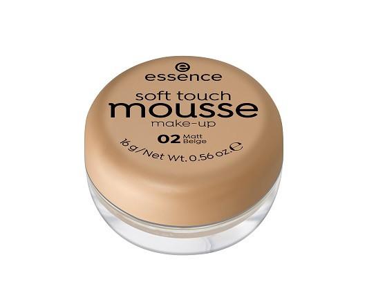 Essence Мусс тонирующий soft touch matt mousse  02 matt beige