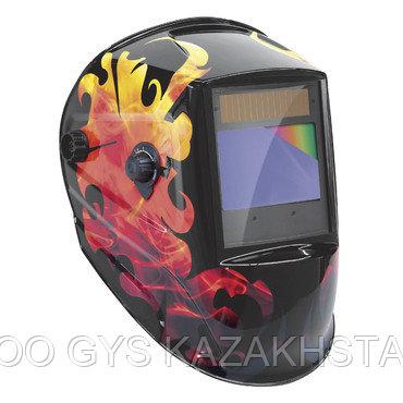 МАСКА СВАРЩИКА LCD ZEUS 5-9/9-13 G FIRE TRUE COLOR, фото 2