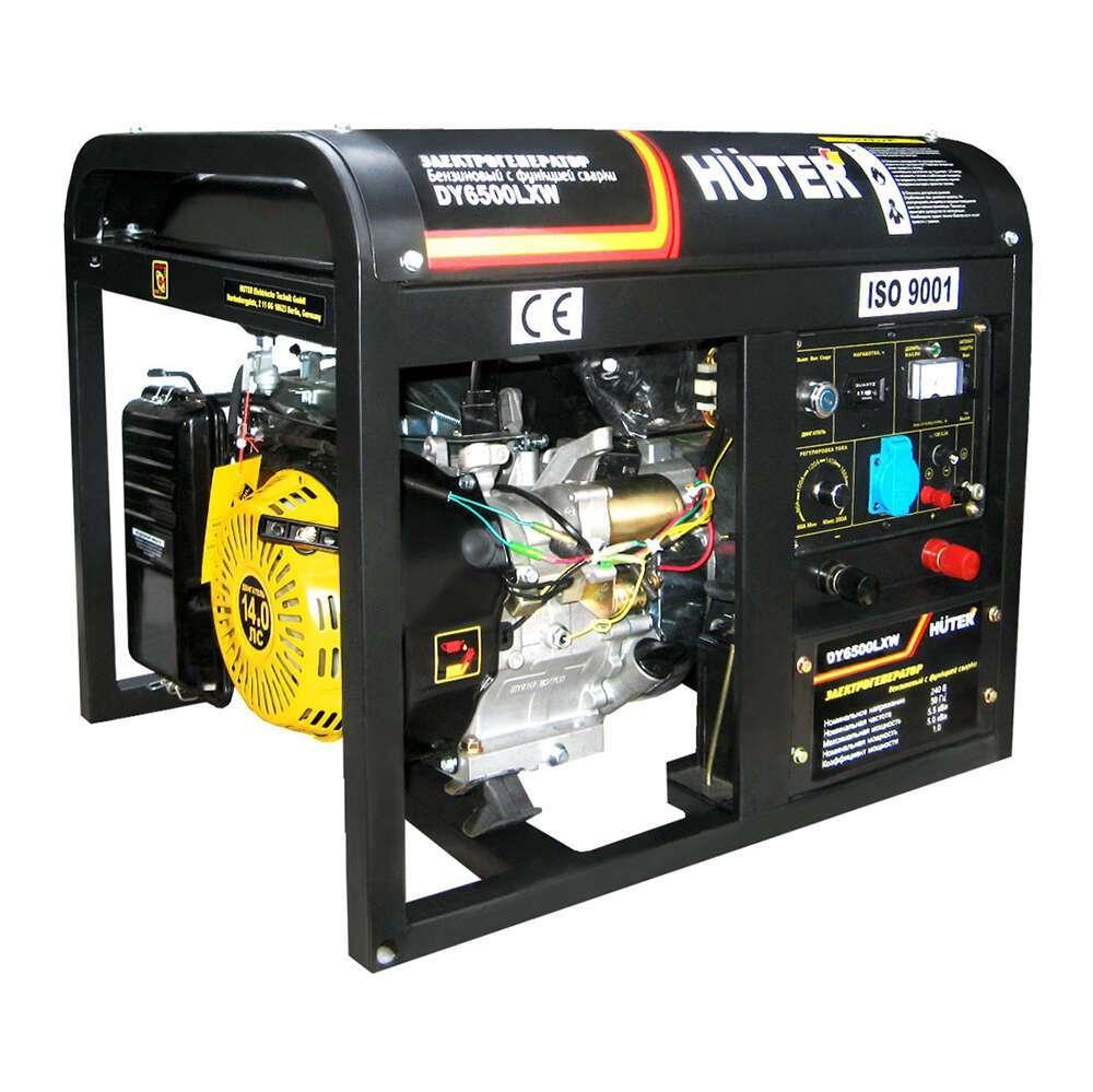 Электрогенератор Huter 6500LXW DY с функцией сварки