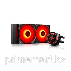 Кулер с водяным охлаждением Deepcool GAMMAXX L240T RED