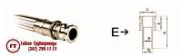 Металлорукав РГМ-БРСЕ с наконечником БРС тип E под приварку