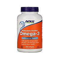 Омега 3 от NOW Foods 600 мг. 200 капс.