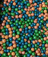 """Драже зерновое в цветной глазури """"Микс"""" 50 гр Оранжево-зеленый"""