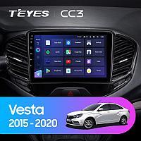 Автомагнитола Teyes CC3 4GB/64GB для Lada Vesta 2015-2020, фото 1
