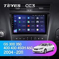 Автомагнитола Teyes CC3 4GB/64GB для Lexus GS 300/350/450H 2004-2011