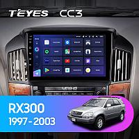 Автомагнитола Teyes CC3 4GB/64GB для Lexus RX300 1997-2003, фото 1