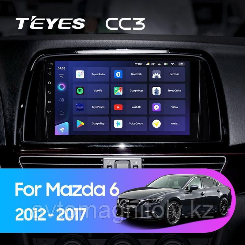 Автомагнитола Teyes CC3 4GB/64GB для Mazda 6 2012-2017