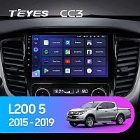 Автомагнитола Teyes CC3 4GB/64GB для Mitsubishi L200 2015-2019, фото 1