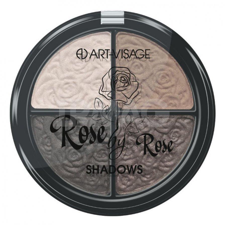 "Палетка теней для век Арт-визаж ""SMOKEY EYES"" Rose by Rose тон 302"