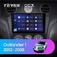 Автомагнитола Teyes CC3 4GB/64GB для Mitsubishi Outlander 2002-2008, фото 1