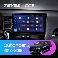 Автомагнитола Teyes CC3 4GB/64GB для Mitsubishi Outlander 2012-2018