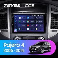 Автомагнитола Teyes CC3 4GB/64GB для Mitsubishi Pajero 4 2006-2014