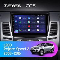 Автомагнитола Teyes CC3 4GB/64GB для Mitsubishi Pajero Sport 2 L200 2008-2016