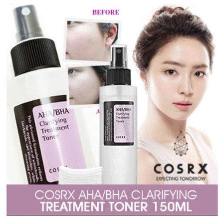Тонер для лица с кислотами COSRX AHA/BHA Clarifying Treatment Toner, 100ml, фото 2