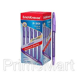 Ручка шариковая ErichKrause® R-301 Violet Stick&Grip 0.7, цв. чернил фиолетовый