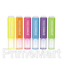 Текстмаркер Comix HP908, розовый, 1-4 мм. (упак./10 шт.)