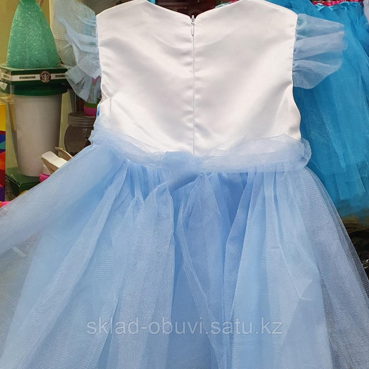 Детский новогодний костюм Эльзы - фото 3