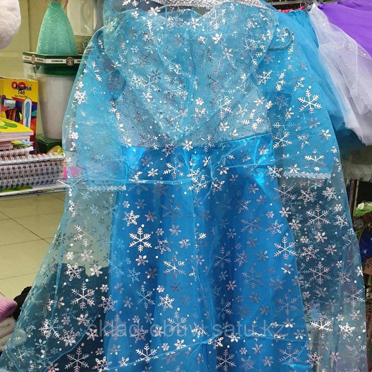 Детский новогодний костюм Эльзы - фото 4