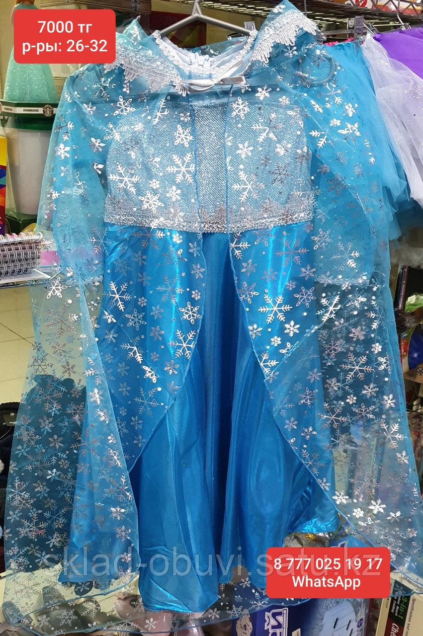 Детский новогодний костюм Эльзы - фото 5