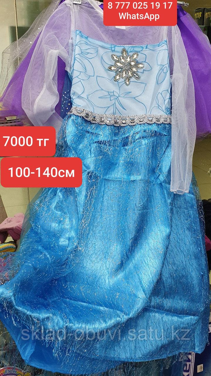 Детский новогодний костюм Эльзы - фото 1