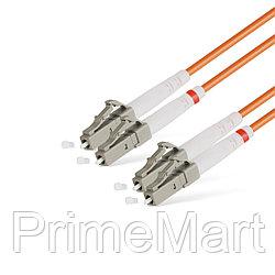 Патч Корд Оптоволоконный LC/UPC-LC/UPC MM OM2 50/125 Duplex 3.0мм 3 м