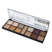 DoDo Girl Pocket Kit: 12 colors Eyeshadow Palette палетка теней- 02
