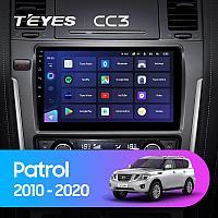 Автомагнитола Teyes CC3 4GB/64GB для Nissan Patrol 2010-2020