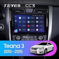 Автомагнитола Teyes CC3 4GB/64GB для Nissan Teana 2013-2015
