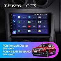 Автомагнитола Teyes CC3 4GB/64GB для Renault Duster 2010-2015