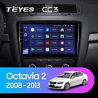Автомагнитола Teyes CC3 4GB/64GB для Skoda Octavia 2008-2013